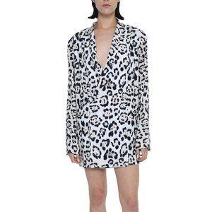 Baja East DB Jaguar Blazer Mini Dress